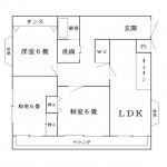 【賃貸アパート】東根市神町北一丁目 エンゼルハイツ406号