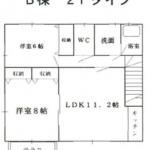【賃貸アパート】東根市神町北二丁目 アメニティパレス B202