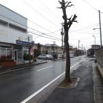 店舗前の通り。閑静な住宅街の一角にあります。(外観)