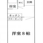【賃貸アパート】東根市板垣大通り フォルムONE 203号室 1K