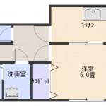 【賃貸アパート】東根市一本木 一本木フラワー102号室