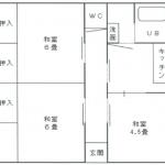 【賃貸アパート】東根市二条通り コーポフローラル113号 3DK