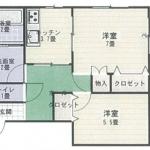 【賃貸アパート】東根市大字若木 コーポフローラル大森115号