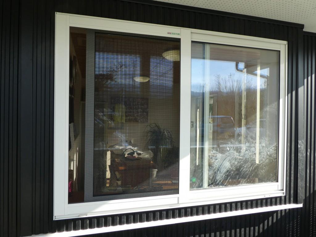 ソリッドフロー設置の窓